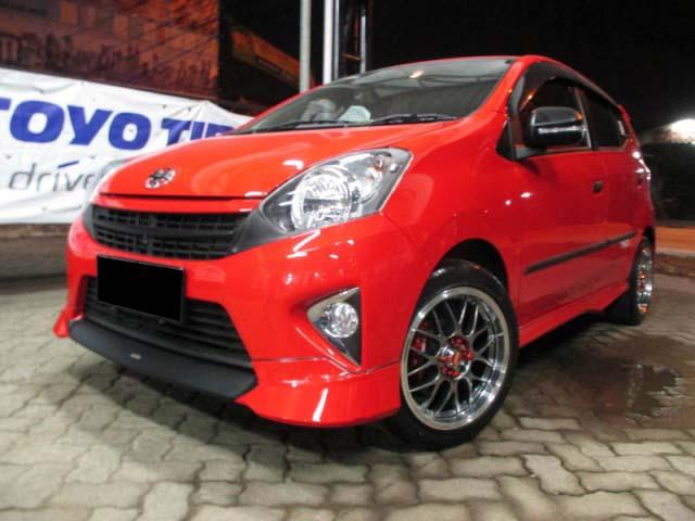 Modifikasi Toyota Agya Tipe Trd S G E