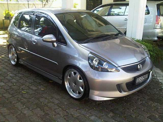 15 Modifikasi Honda Jazz GD3 I-DSI & VTEC Terbaru