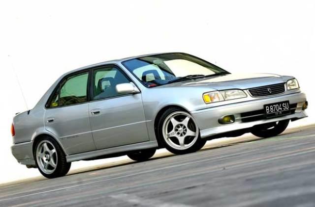 7 Modifikasi Sedan Toyota New Corolla 1.8 AE112