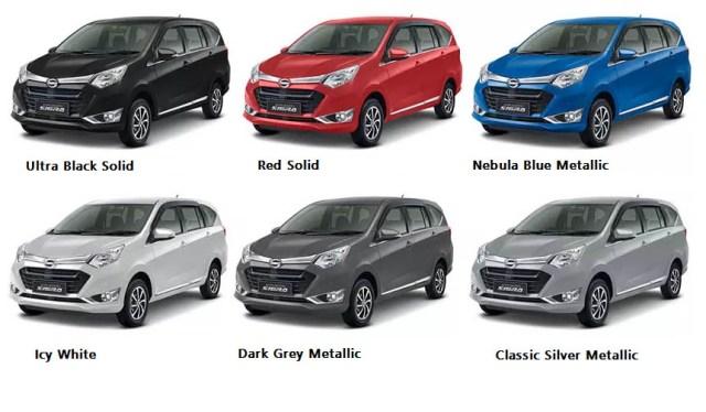 Pilihan Warna Lengkap Daihatsu Sigra 2017