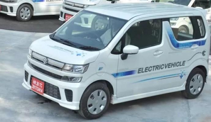 Suzuki Wagon R Listrik Menggunakan Baterai Import Langsung Dari Jepang
