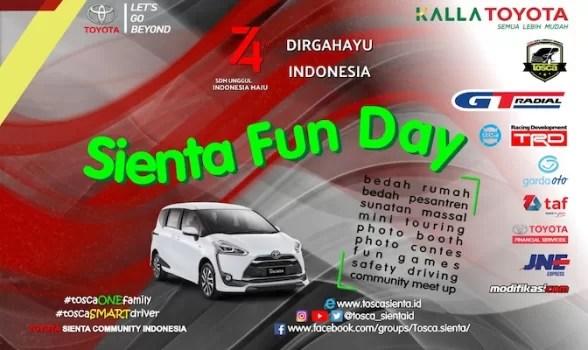 TOSCA Rayakan Sienta Fun Day 2019 di Makassar