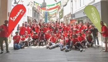 Piaggio Indonesia Menggelar Community Ride Bersama Vespa LX i-get 125 Terbaru di Bandung