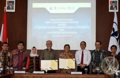 TMMIN dan UGM Saling Bersinergi Untuk Daya Saing Nasional