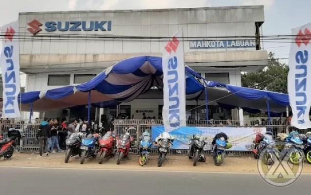 Sunmori Bikers Suzuki Susuri Pantai Ujung Barat Pulau Jawa