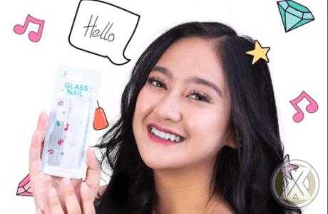 SASHI Cosmetics Meluncurkan Glass Nail, Kikir Kuku Kaca Buatan Korea