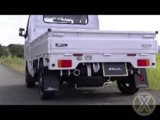 Suzuki Carry Pickup Pakai Knalpot Yoshimura Semakin Greng!