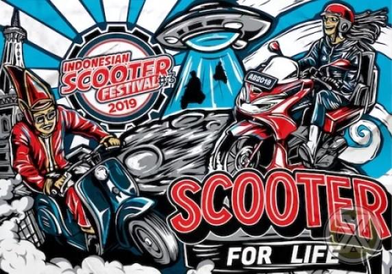 Indonesian Scooter Festival 21 & 22 September 2019 Di Jogja Expo Center