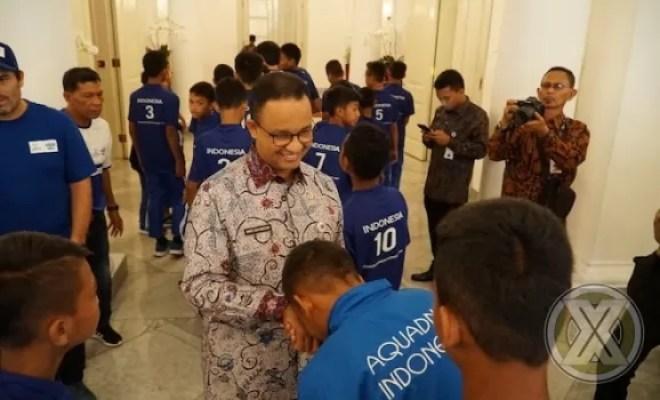 Wakil Indonesia di Final Dunia Danone Nations Cup Dapat Dukungan Gubernur DKI Jakarta
