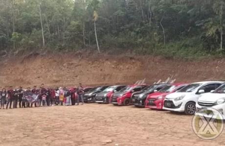 Toyota Agya Club (TAC) Chapter Priangan Timur Anniversaru Pertama Dengan Kebersamaan