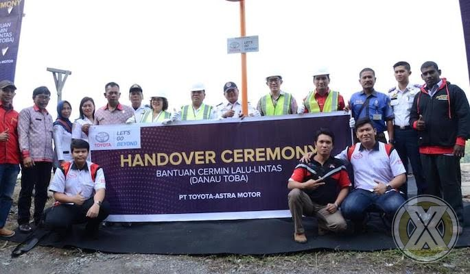 Toyota Program CSR Keselamatan Berlalu Lintas Di Sekitar Danau Toba