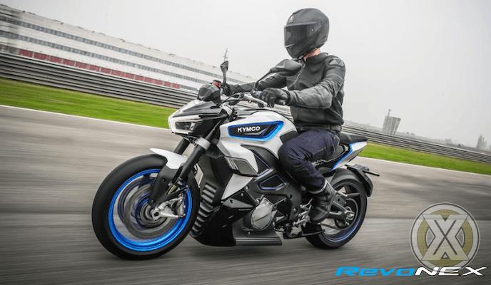KYMCO RevoNEX Diperkenalkan dalam ajang Electric Motorcycle di EICMA 2019