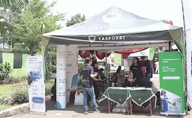 Cashwagon Meriahkan Open House Yasporbi Pasar Minggu