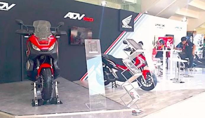 Astra Honda Motor Boyong PCX Electric dan PCX Hybrid Di IIMS Motobike Expo 2019