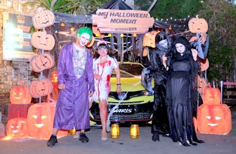 Toyota Yaris Club Indonesia (TYCI) Adakan Pesta Halloween