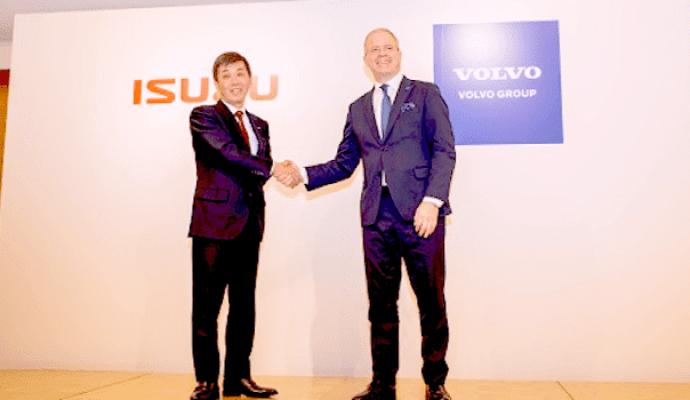 Isuzu Motors Limited Dan Volvo Trucks Mulai Jalin Kerja Sama