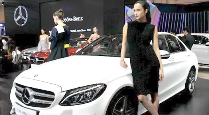 Penjualan Mercedes-Benz Untuk Mobil Penumpang Dan Van di tahun 2019