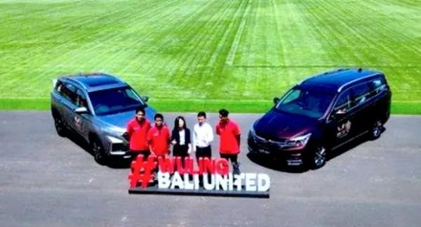 Wuling Motors Jadi Official Partner Bali United