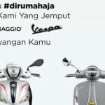 Piaggio Indonesia Hadirkan Layanan Free Pick-Up Service Piaggio Vespa Selama Masa #DiRumahAja
