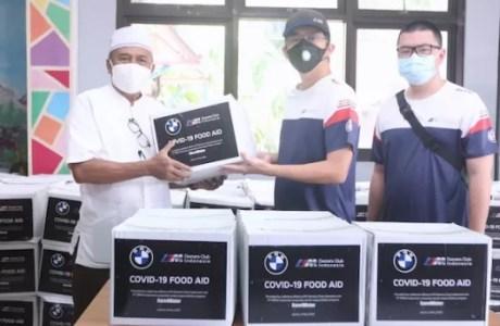 BMW Indonesia salurkan paket sembako bersama MOCI