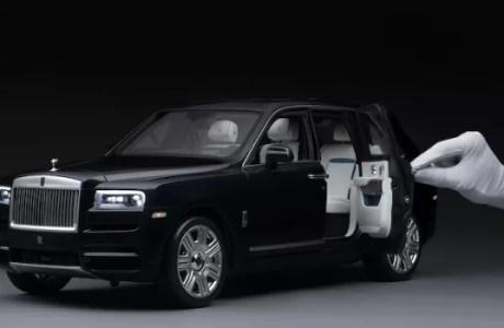 Asli Ini Baru Keren Saat Rolls-Royce Motor Cars Dengan Replika Cullinan skala 1: 8