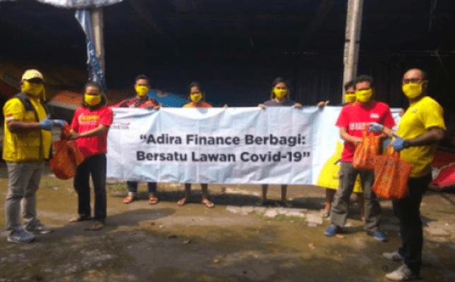 Adira Finance Syariah Salurkan Bantuan Perangi Covid-19