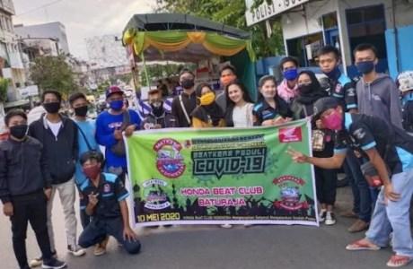 Honda BEAT Club Indonesia Gelar Baksos Serentak Dari Aceh Hingga Papua