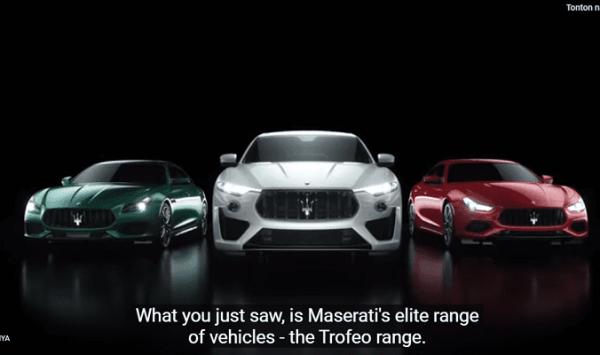 Maserati Tambah Jajaran Model Trofeo