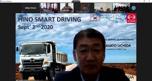 Smart Driving Hino500 Series Pelatihan bagi 95 pengemudi Customer