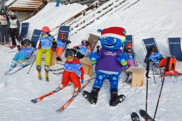 zimske počitnice za otroke tečaj smučanja