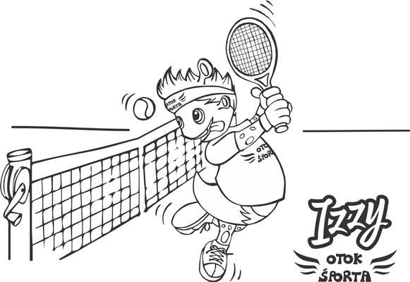Izzy igra tenis