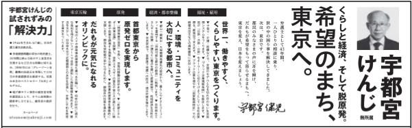 選挙公報utsunomiya