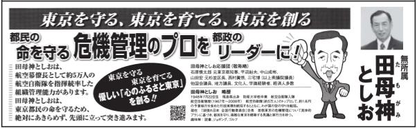 選挙公報tamogami
