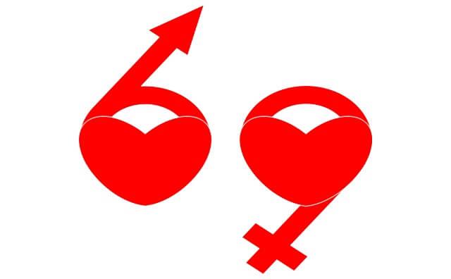 69(シックスナイン)の画像