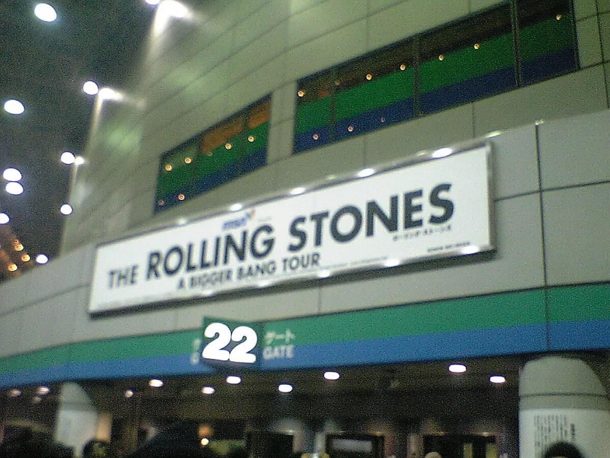 ローリング・ストーンズ、東京公演(A BIGGER BANG TOUR)