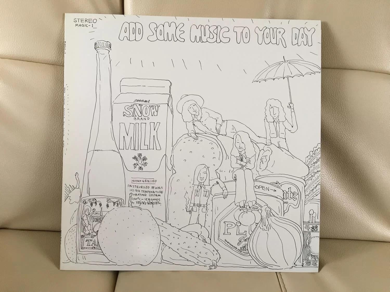 パイド・パイパー・ハウスで買った『ADD SOME MUSIC TO YOUR DAY』