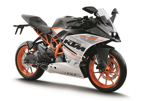 Desain KTM RC 250