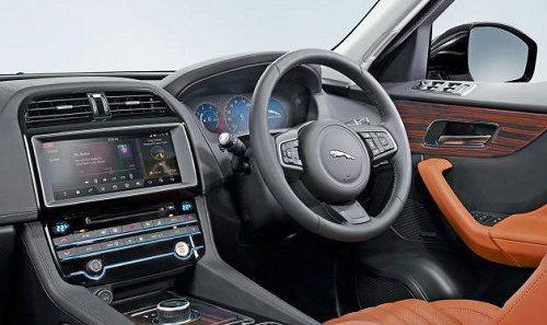 Interior Jaguar F-PACE