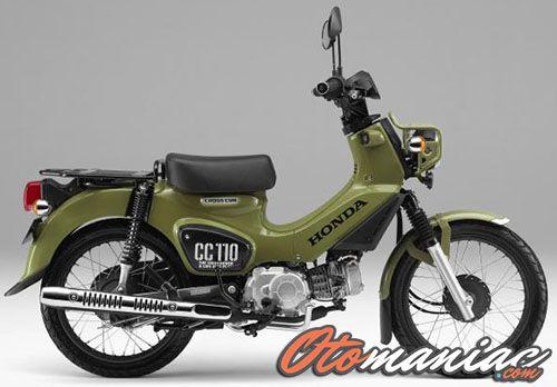 Desain Honda Cross Cub 110