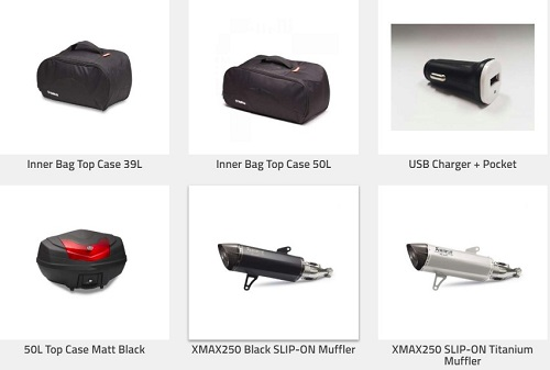 Daftar Harga Aksesoris Yamaha XMAX