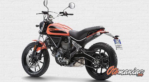 Fitur Ducati Scrambler Sixty2