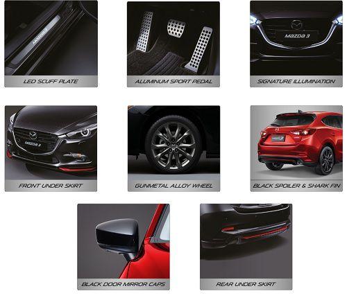 Fitur New Mazda 3 Speed