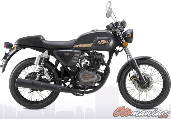 Rangka dan Kaki-Kaki Benelli Motobi 152