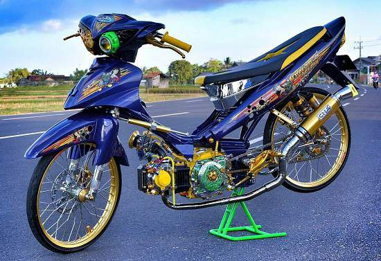 Foto Modifikasi Jupiter Z Thailook