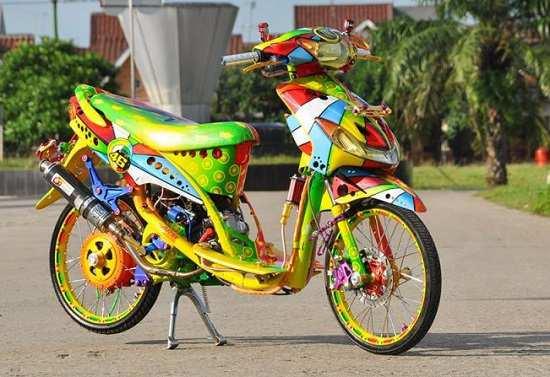 Gambar Modifikasi Motor Yamaha Mio Thailook