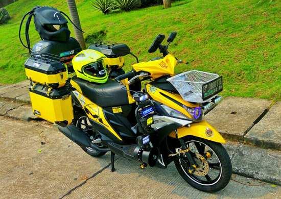Gambar Modifikasi Yamaha Mio Touring