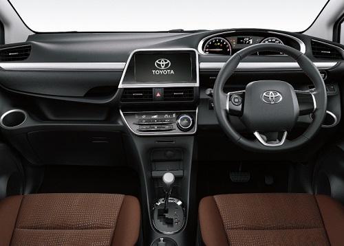 Interior New Toyota Sienta