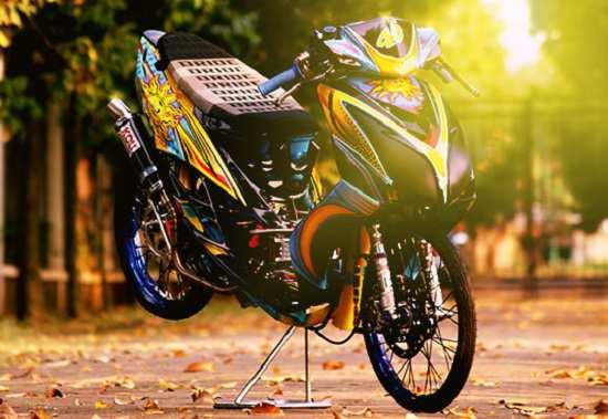 Modif Yamaha Mio Thailook