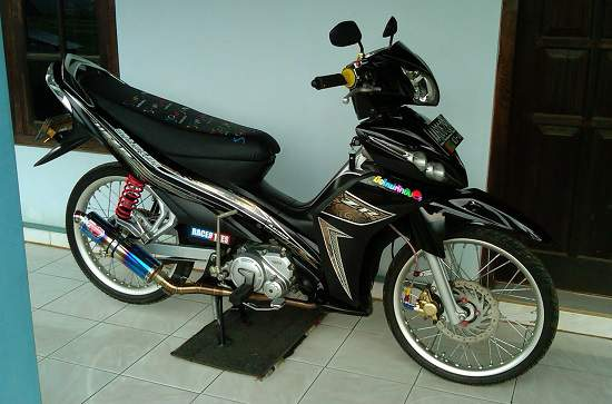 Modifikasi Jupiter Z Gaya Thailook