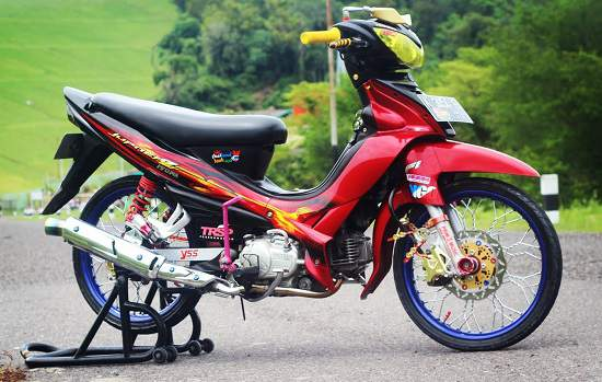Modifikasi Jupiter Z Jari-Jari